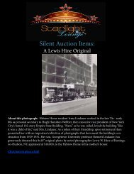 Silent Auction Items: - Hebrew Home of Greater Washington