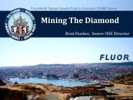 Mining The Diamond - Hebron Project