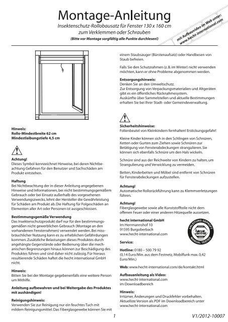 alu bausatz fenster hecht international gmbh. Black Bedroom Furniture Sets. Home Design Ideas