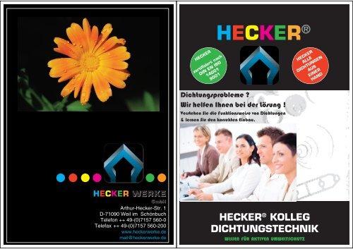 Schulungen - HECKER WERKE GmbH