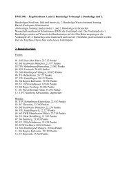 DMS 2011 - Ergebnisdienst 1. und 2. Bundesliga ... - TG Heddesheim