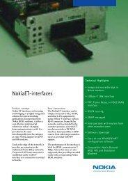 NokiaET-interfaces - Hedin Data
