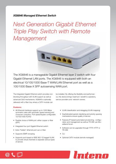 triple play switch