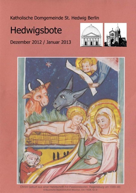 Hedwigsbote - St. Hedwigs-Kathedrale Berlin