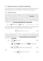 A Fourier-reeksen en Fourier-integralen