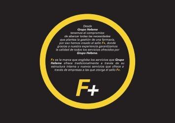 Pinche aqui para visualizar el folleto de F+ - Hefame