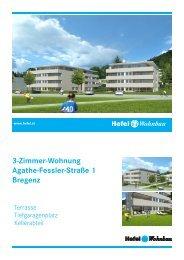3-Zimmer-Wohnung Agathe-Fessler-Straße 1 Bregenz