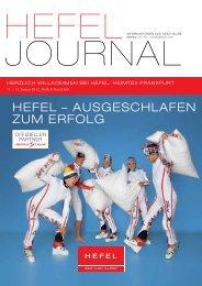 HEFEL – AUSGESCHLAFEN ZUM ERFOLG - Hefel Textil AG