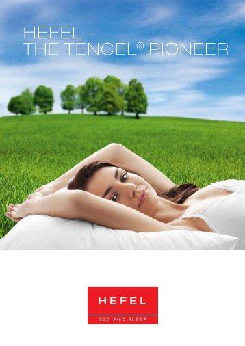 HEFEL - THE TENCEL® PIONEER - Hefel Textil AG