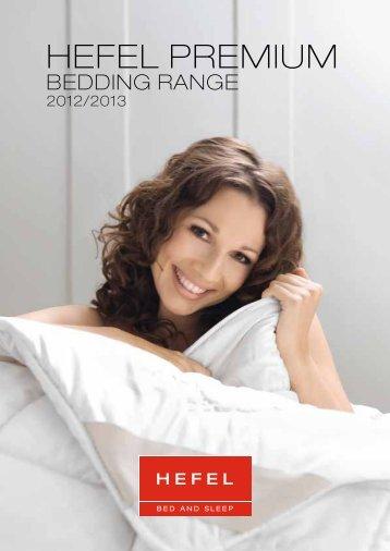 HEFEL PREMIUM bedding range - Hefel Textil AG