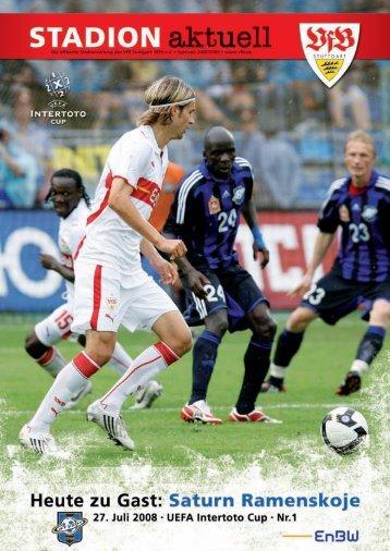 Saturn Ramenskoje - VfB Stuttgart