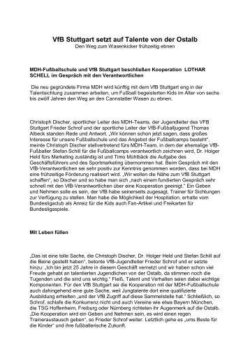 VfB Stuttgart setzt auf Talente von der Ostalb - HefleswetzKick.de