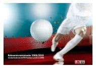 Rahmenterminkalender 2009/2010 - Bundesliga
