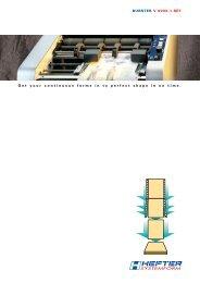 Broschure V 9000-1-REF (PDF) - HEFTER Systemform