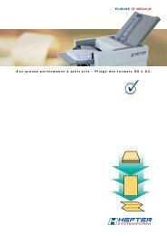 Dépliant TF MEGA-M (PDF) - HEFTER Systemform