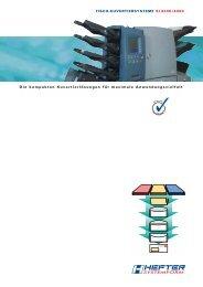 Prospekt SI 4400 - HEFTER Systemform