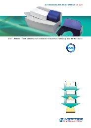Prospekt OL 220 - HEFTER Systemform