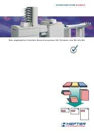 Das unglaublich flexible Kuvertiersystem für Formate von DL bis B4 ...