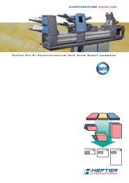 Prospekt SI 5200/ 5400 (PDF) - HEFTER Systemform