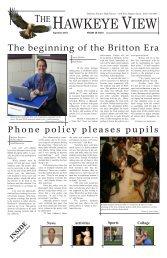 Volume 38 Issue 1 - September 2010 - Hoffman Estates High School