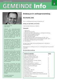 GEMEINDE Info - Gemeinde Visperterminen