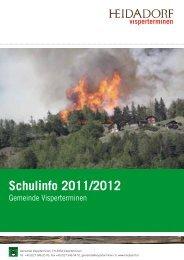 Schulinfo 2011/2012 - Gemeinde Visperterminen