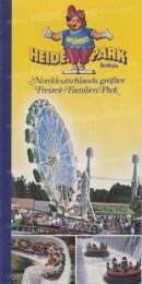Heide-Park Flyer 1996 - Heide Park World