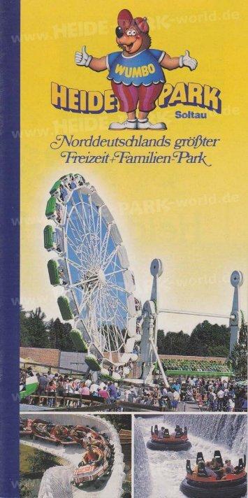 Heide-Park Flyer 1996 - Heide Park World