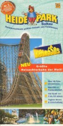 Heide-Park Flyer 2001 - Heide Park World