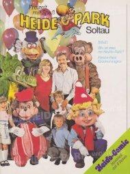 Heide-Park Parkführer 1982 - Heide Park World