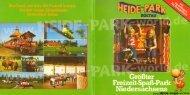 Heide-Park Parkführer 1979 - Heide Park World