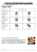 Teppan-Yakis - HEIDEBRENNER GmbH - Seite 2