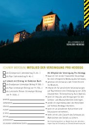 Meldekarte (pdf) - Schloss Heidegg