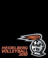 Volleyball Media Guide - Heidelberg University