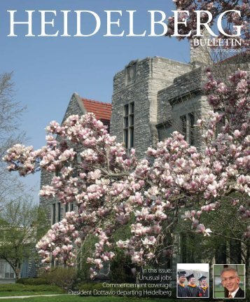 Vol. 40, Issue 2, Spring 2008 - Heidelberg University