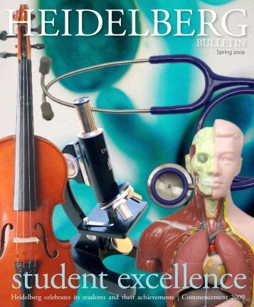 Vol. 41, Issue 2, Spring 2009 - Heidelberg University