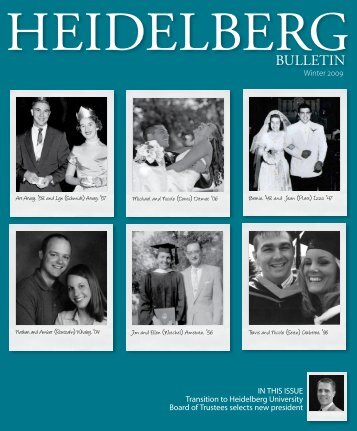 Vol. 41, Issue 1, Winter 2009 - Heidelberg University