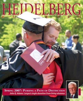 Vol. 39, Issue 2, Spring 2007 - Heidelberg University