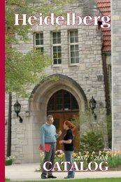 2007-2008 Catalog - Heidelberg University
