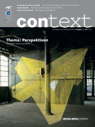 Thema: Perspektiven - HeidelbergCement