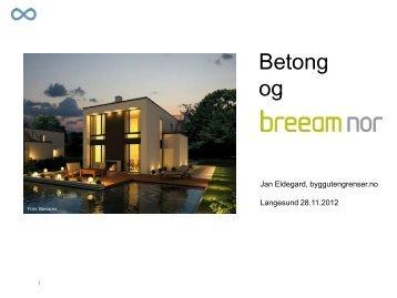 Betong og BREEAM NOR - HeidelbergCement