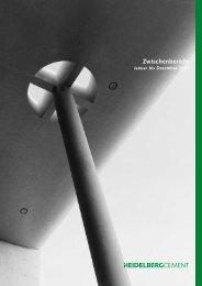 Zwischenbericht Jan.-Dez. 2001 (PDF; 485 KB) - HeidelbergCement