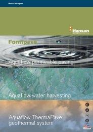 Aquaflow permeable paving - HeidelbergCement