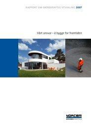 Bærekraftsrapport 2007 - HeidelbergCement