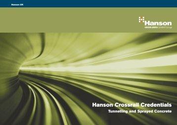 Hanson Crossrail Credentials - HeidelbergCement