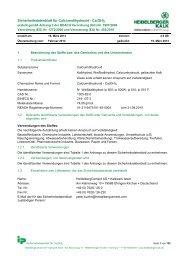 Sicherheitsdatenblatt Calciumhydroxid (PDF; 1.168 KB)