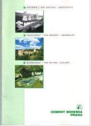 Cement Bohemia - historie, současnost, budoucnost