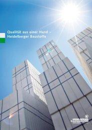 PDF-Dokument 1,66 MB - Heidelberger Kalksandstein GmbH