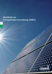 Merkblatt ENEV - Heidelberger Kalksandstein GmbH