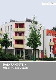 Wohnformen der Zukunft - Bundesverband Kalksandsteinindustrie eV